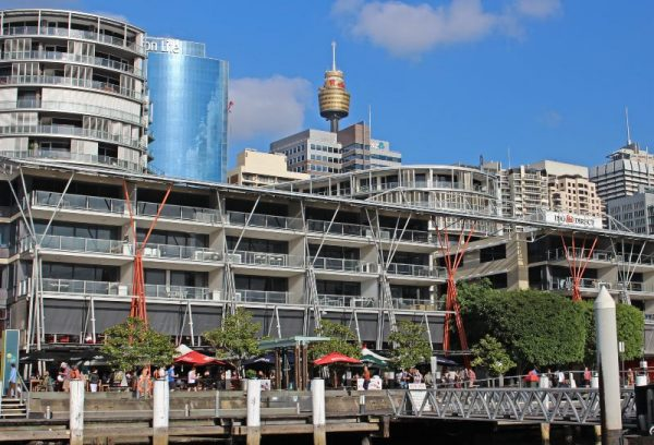 King Street Wharf Darling Harbour Sydney