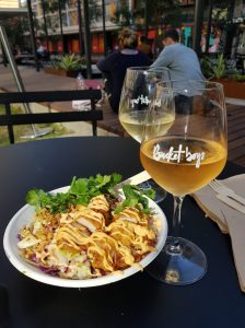 Delious lunch at Darling Square
