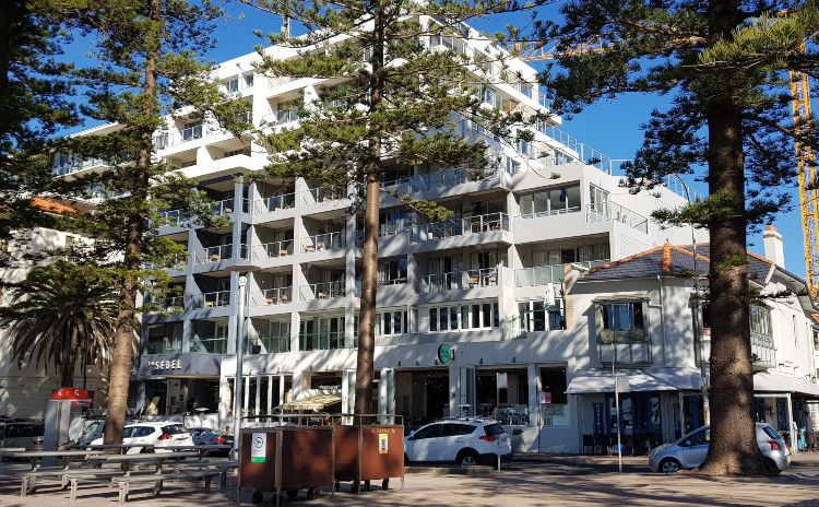 The Sebel Hotel in Manly