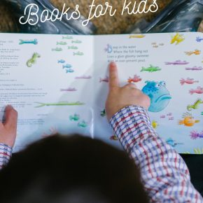 Books for kids about australia