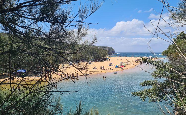 Wattamolla Beach Royal National Park Sydney