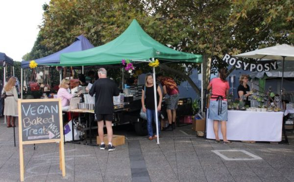 Newtown Market in Sydney
