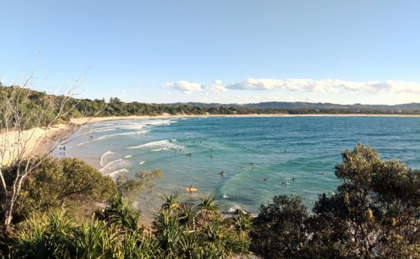 Byron Bay Beach The Pass NSW