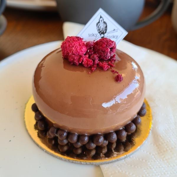 Chocolate Raspberry Mouse Icky Sticky