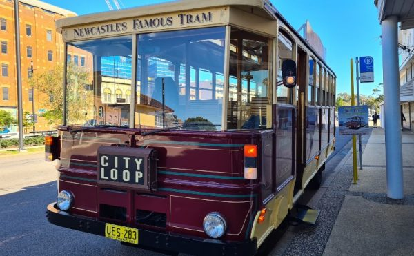 Newcastle Famous Tram