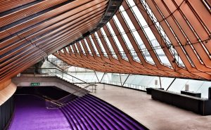 Sydney Opera House Tour Purple stairs