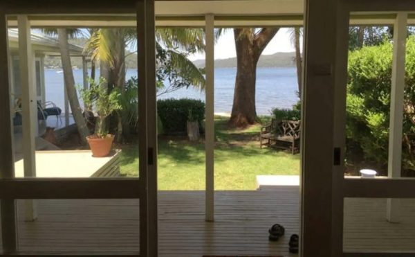 Dangar Island Beach House airbnb