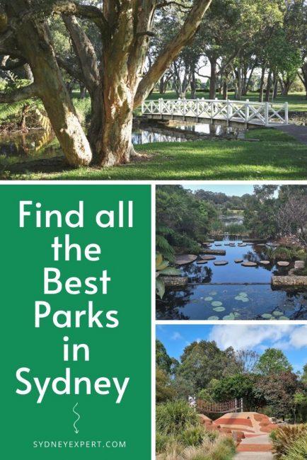 Best Parks Sydney