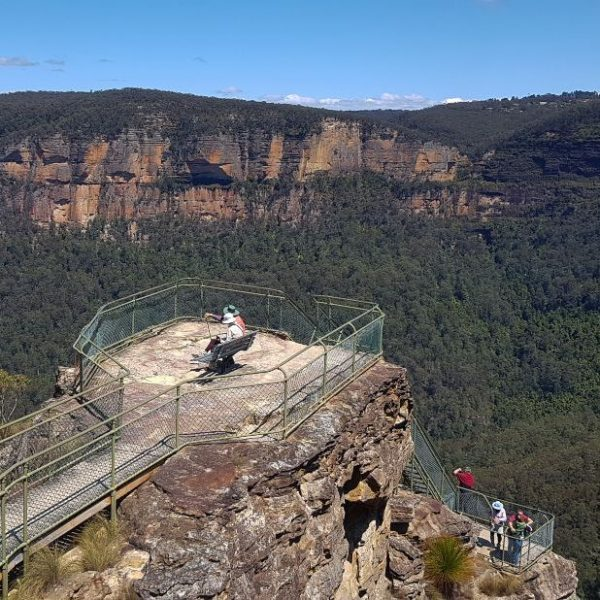 Pulput Rock Lookout Blackheath Blue Mountains Walks