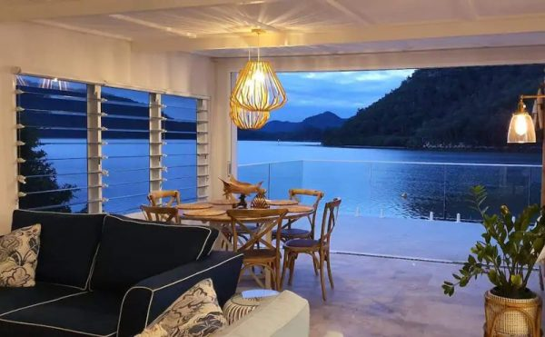 The villa boathouse Berowra Creek Hawkesbury