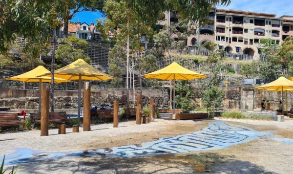 Waterplay Park at Pyrmont