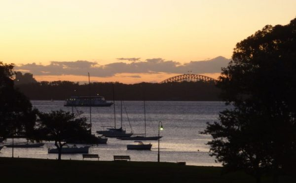 Robertson Park Watsons Bay Sunset