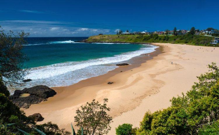 Kendalls Beach, Kiama. Credit: Destination NSW