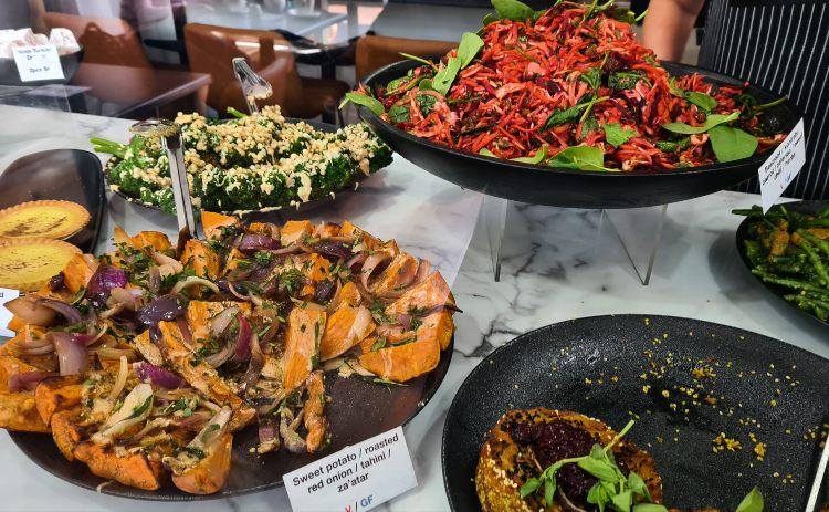 Salads from Otis Deli in Kiama