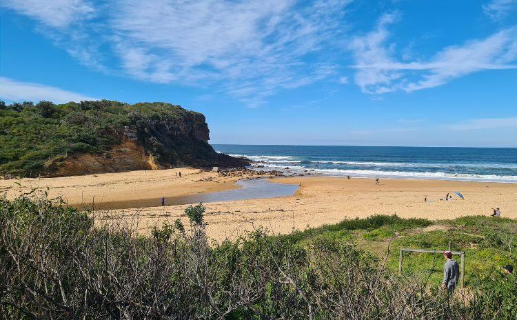 Werri Beach at the Southern end of the Kiama Coastal Walk