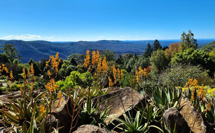 A romantic Blue Mountains getaway in winter