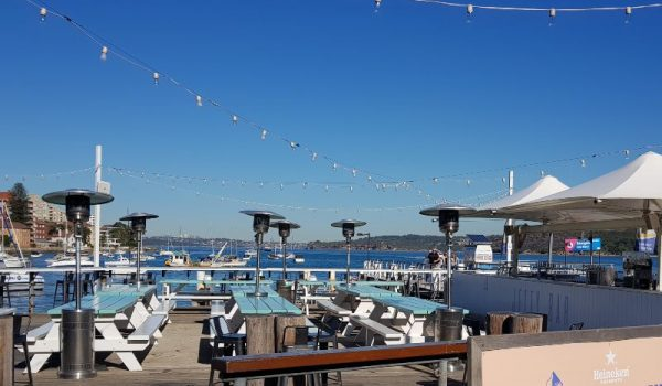 Manly waterfront bar