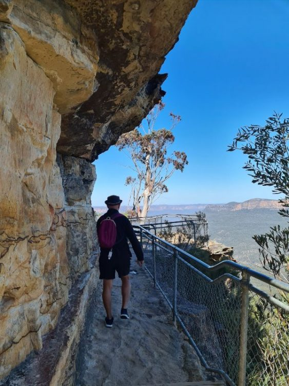 Blue Mountains cliff walk