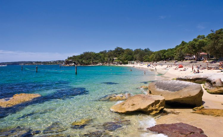 Sydney Harbour National Park Shark Beach