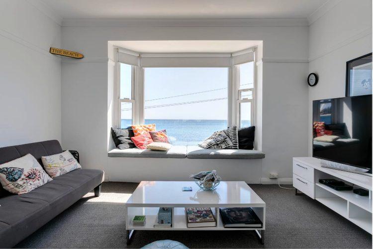 Shelly Beach Airbnb View