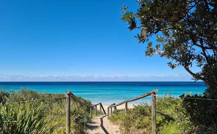 Blueys Beach Pacific Palms NSW
