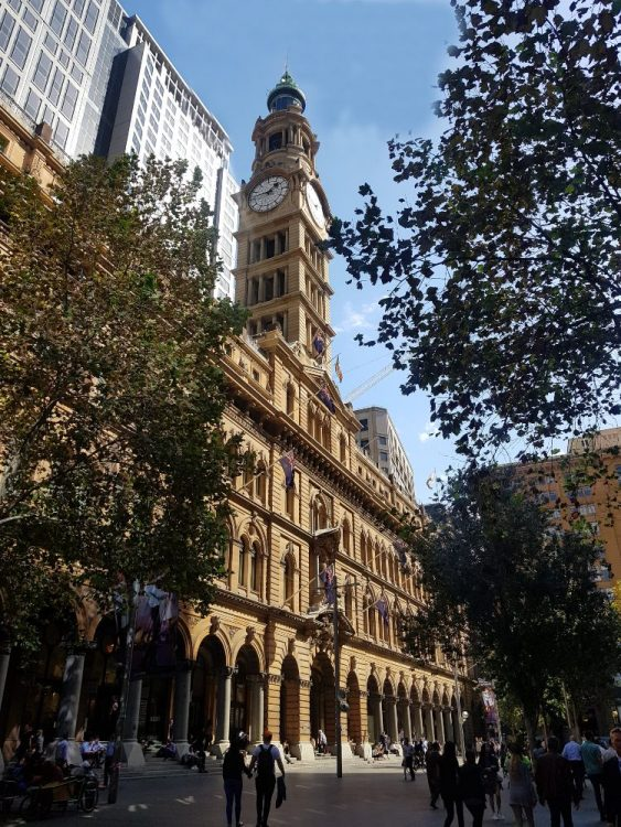 General Post Office  GPO Martin Place Sydney
