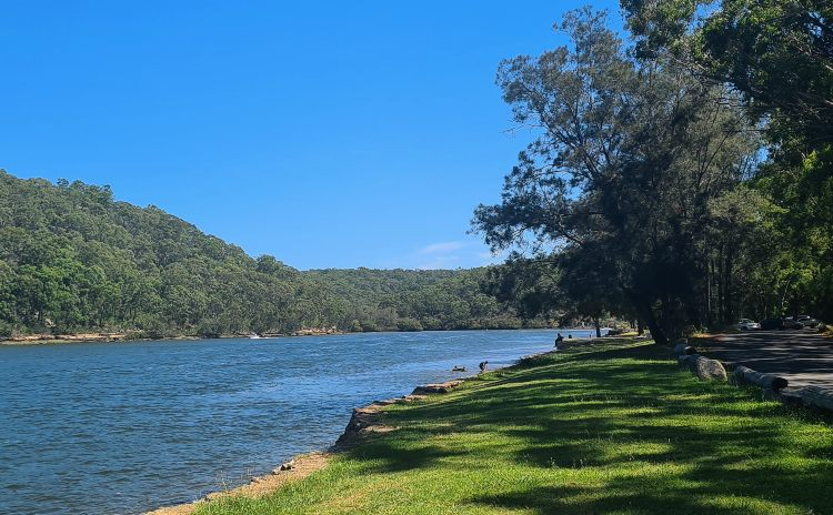 Georges River National Park waterway