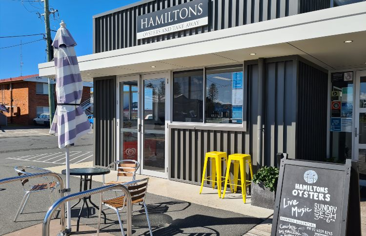 Hamiltons Oysters Forster NSW