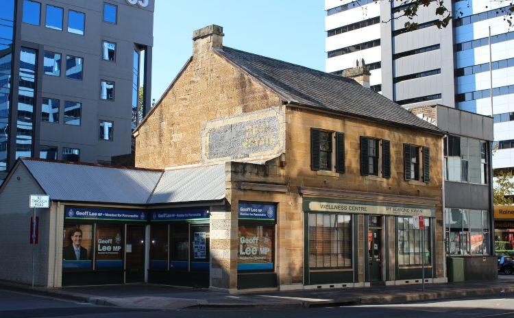 Old shop front Parramatta