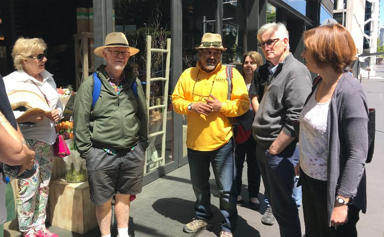 people of a food tour in Sydney