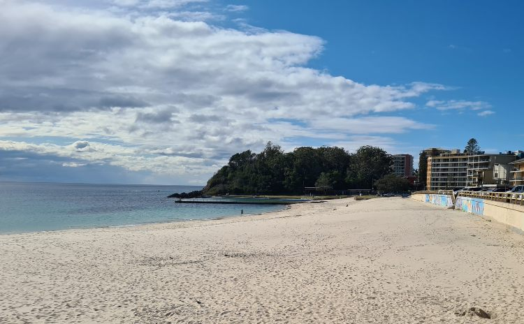 A visit to Forster Main Beach is one of the things to do in Forster