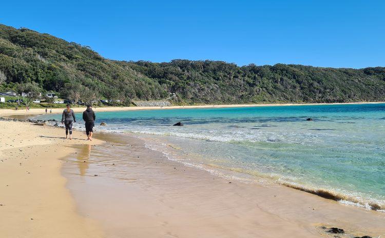 Number 1 Beach Seals Rocks NSW