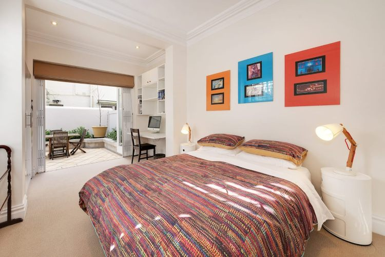 Bedroom in Paddington Terrace Sydney Airbnb property