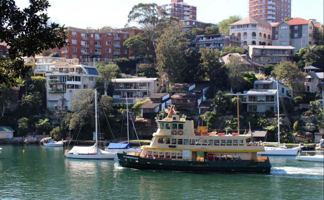 Sydney Harbour Ferry passes Airbnb Rentals