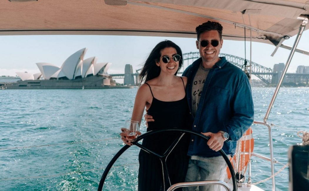 Sydney Valentines ideas romantic sail