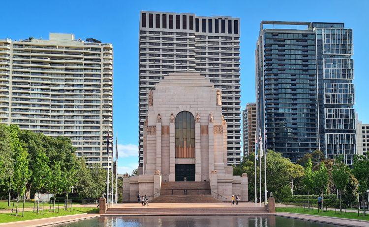 Anzac Memorial Hyde Park Sydney