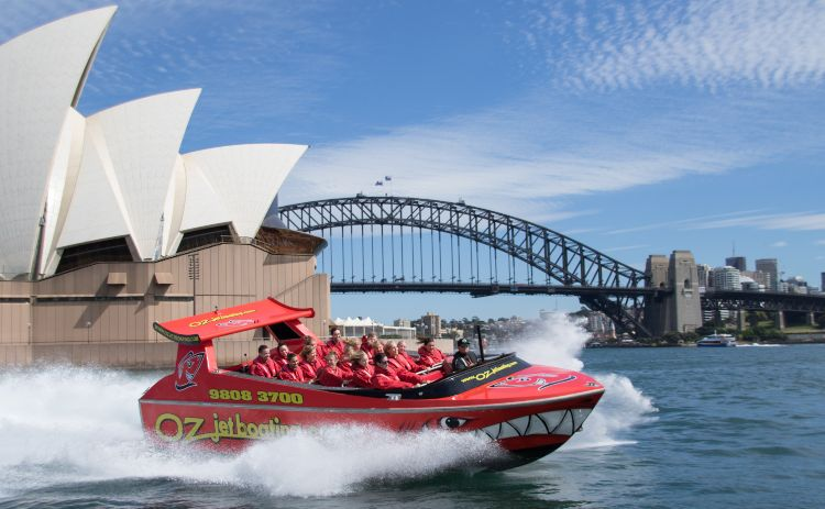 oz Jetboats Sydney Harbour