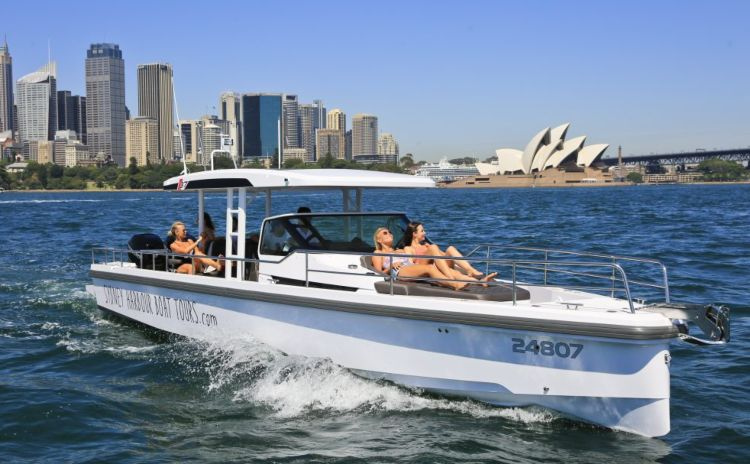 My Sydney Boat on Sydney harbour