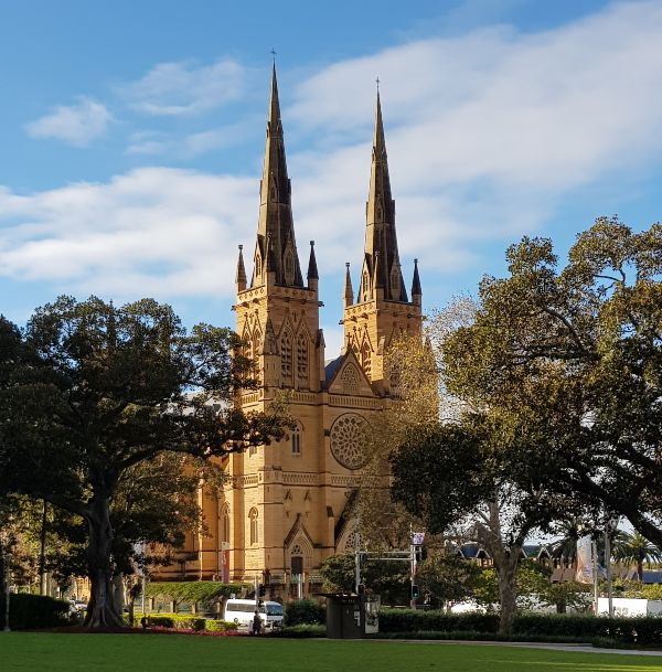 St Marys Cathedral in Hyde Park Sydney Australia
