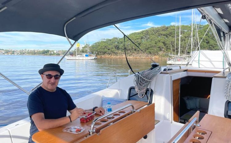 Morning on our Sydney Harbour Yacht Stay