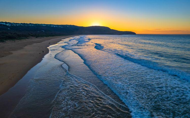 Sunrise at Killcare Beach on the Central Coast