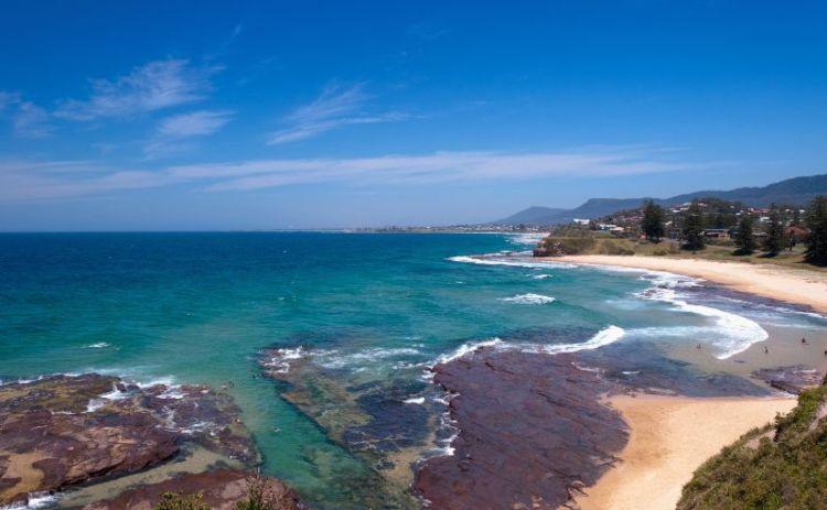 Wollongong beach getaway