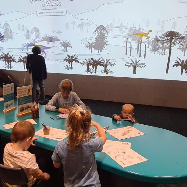 school holidays in Sydney Childrens area at Australian Museum