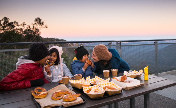 Blue Mountains family dining