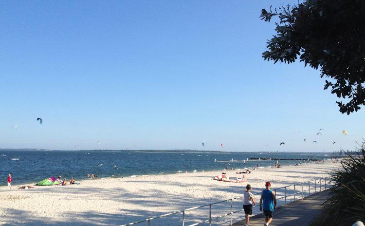 Monterey Beach Kite Surfers Sydney