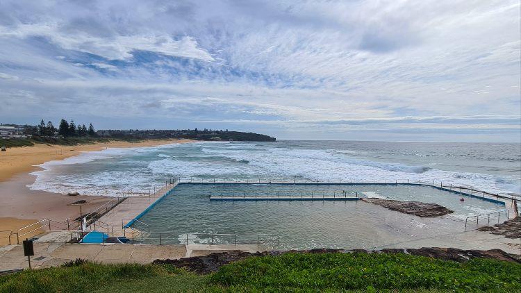 Curl Curl Rock Pool Sydney