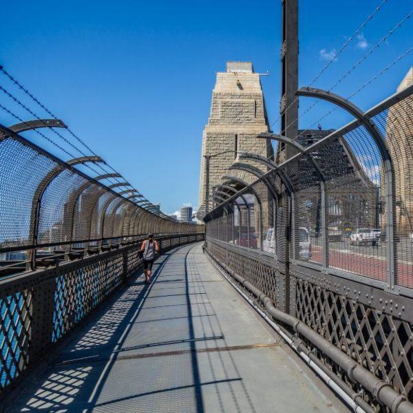 Sydney Harbour Bridge Footpath