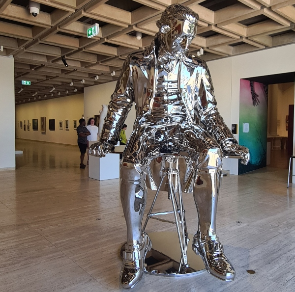 Scupture at the AGNSW