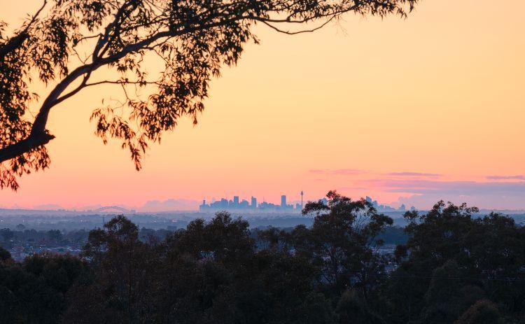 Western Sydney Parklands Seven Ridges Walk Credit: Daniel Tran